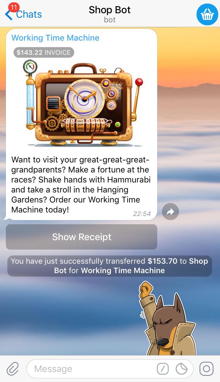 Bot Payments API